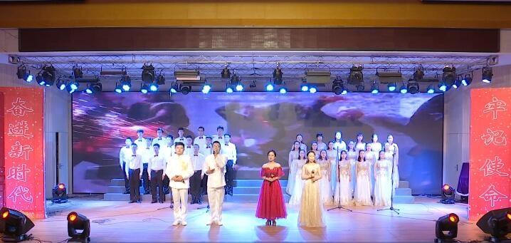 区总工会举办庆祝新中国成立70周年全区职工朗诵会