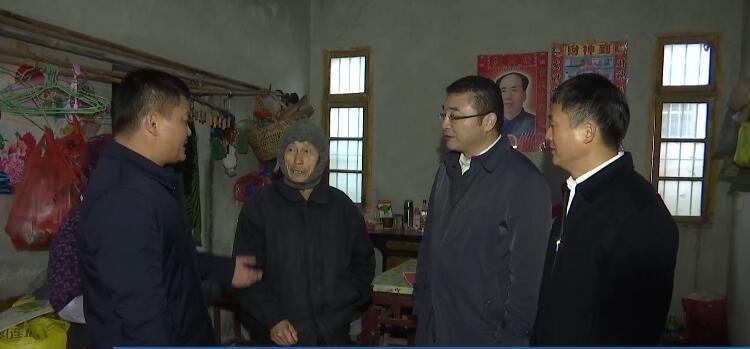 区领导赴西城街道黄庄村开展结对帮扶
