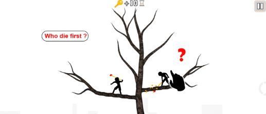 来猜猜「Who Dies First」这场游戏中谁会先死?(iPhone, Android)