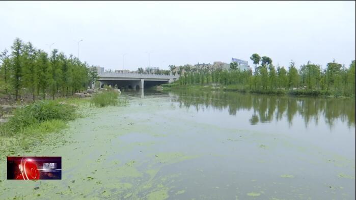 下塘河滨水景观长廊建设基本结束