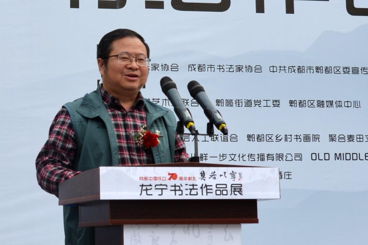 05-四川省书法家协会顾问、成都市书法家协会主席舒炯致辞.JPG