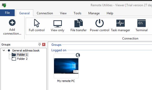 远程桌面管理工具 Remote Utilities - Viewer 特别版