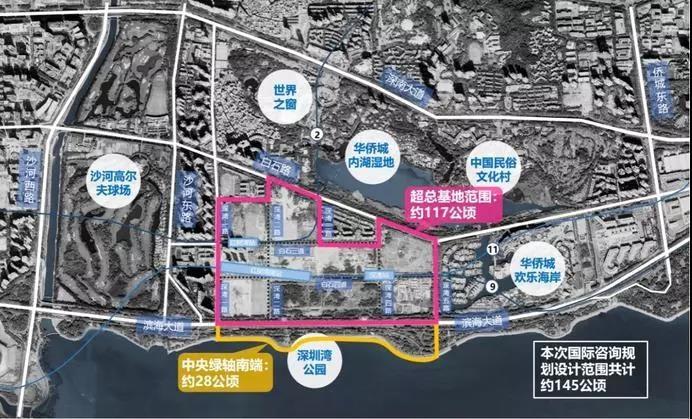 重磅!深圳湾超级总部办公室基地的中央公园来了-咚咚租