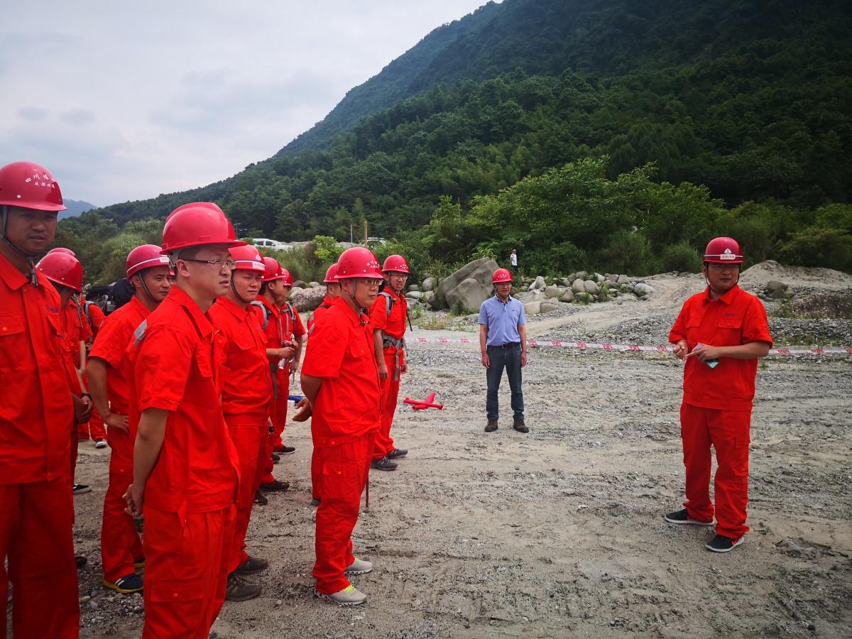 绵竹市广金路伍家坡等地质灾害点整治项目施工现场作抢险工作布置.jpg