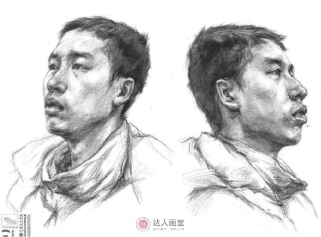 中国美术学院素描高分卷