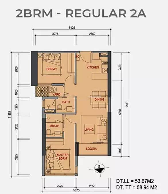 2室2厅2卫1厨使用面积 53.67-58.94㎡.jpg