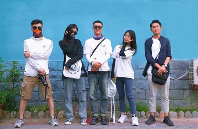 野三坡学生风采