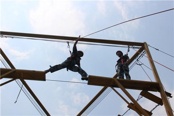 西安团建活动--高空断桥