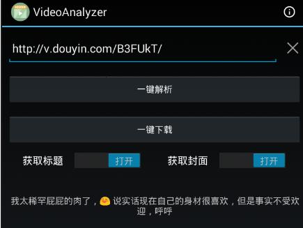 VideoAnalyzer - 全平台短视频解析