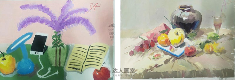 达人画室赵同学入学前后的色彩作品对比.jpg