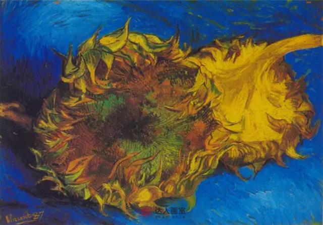 大师美术作品梵高向日葵