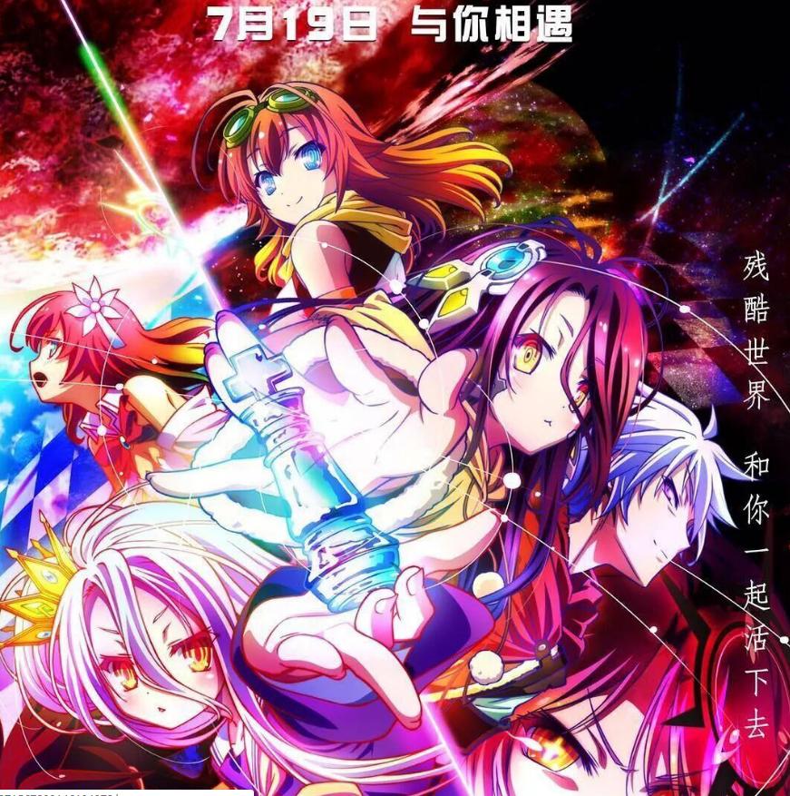 《游戏人生 零》BD1080p日语中字无删减版 豆瓣评分8.6