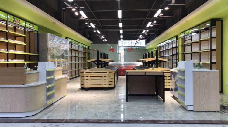 现代简约风格超市装修案例