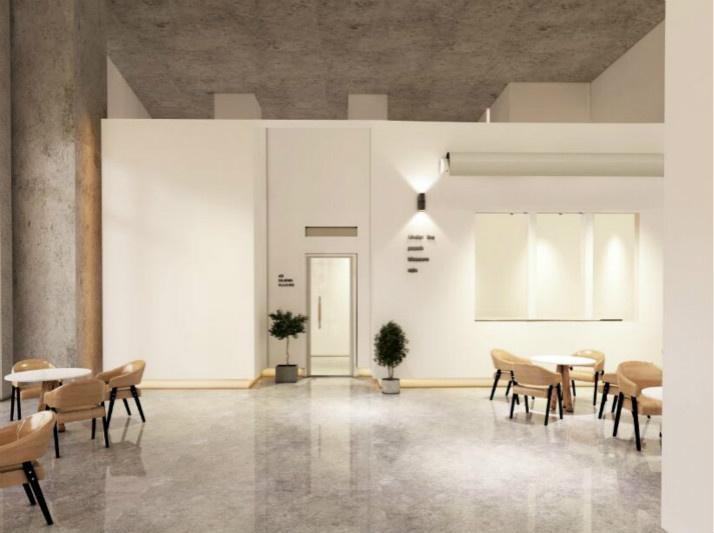 咖啡馆现代简约风格装修
