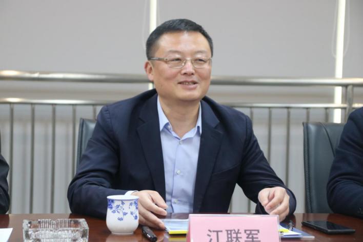 莱西市常务副市长江联军一行到山东通航调研走访