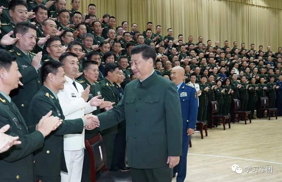军运会开幕式后,习近平接见的官兵是他们-97资源博客